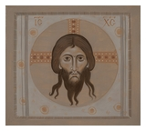 Icon of Holy Mandylion (Image of Christ Not Made by Human Hand)