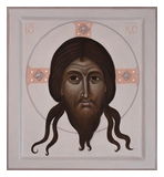 Icon of Holy Mandylion (Image of Christ Not Made by Human Hand), Veronica's Veil