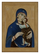 Icon of the Mother of God of Tenderness. 2013