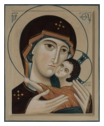 Icon of the Mother of God.