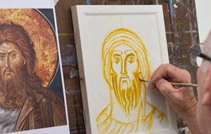 Icon drawing workshop by Philip  Davydov